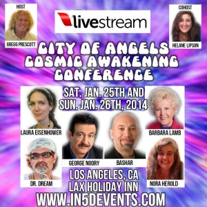 In5D City of Angels Cosmic Awakening Conference